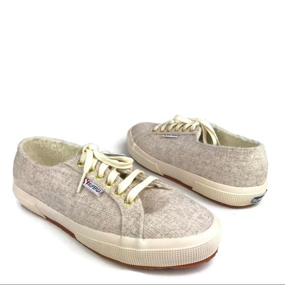 Superga Shoes   Fleece Lined Sneakers